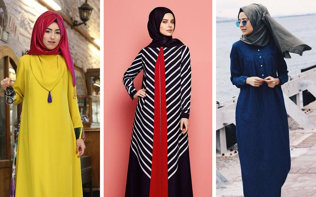 Model Gamis Remaja Modern Masa Kini yang Kekinian