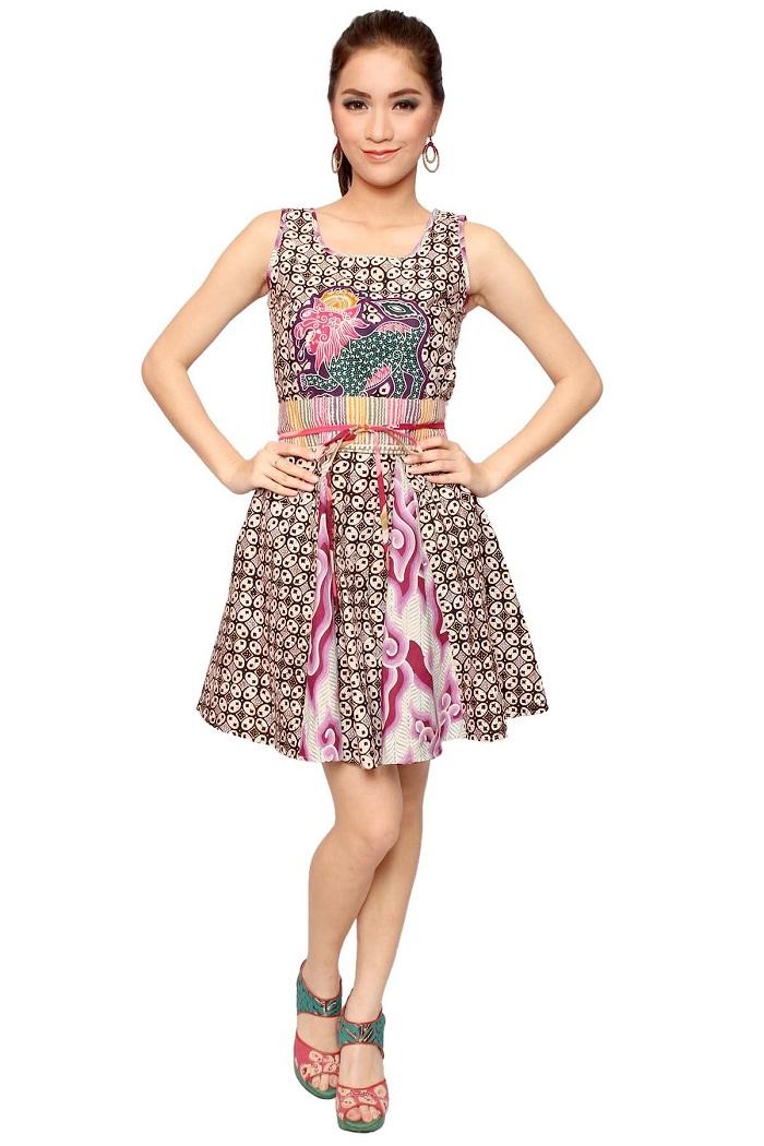 Model Dress Selutut Lengan Pendek Anak Untuk Acara Pesta Ulang Tahun