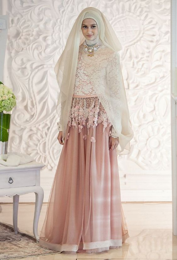 Model Baju Kebaya Pengantin Muslim yang Kekinian