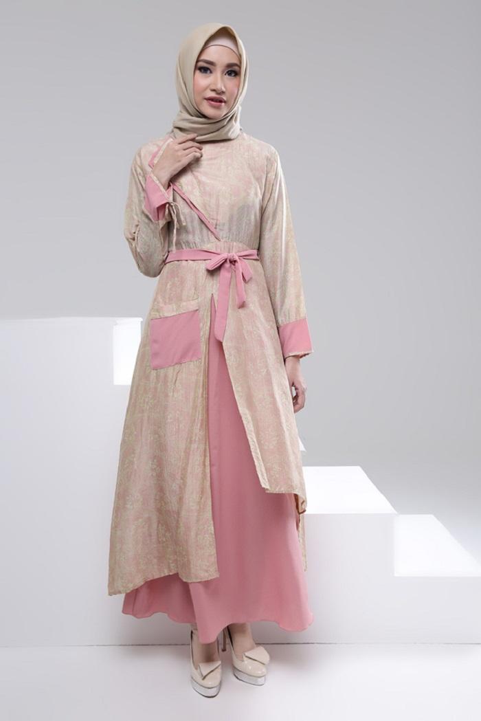 Model Long Dress Hijab Muslimah Untuk Berbagai Pilihan Acara