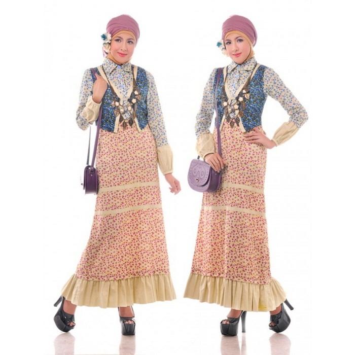 Model Baju Batik Wanita Muslim yang Kekinian