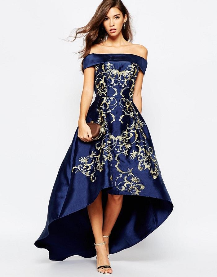 Model Baju Long Dress Batik Fashionable Untuk Berhijab