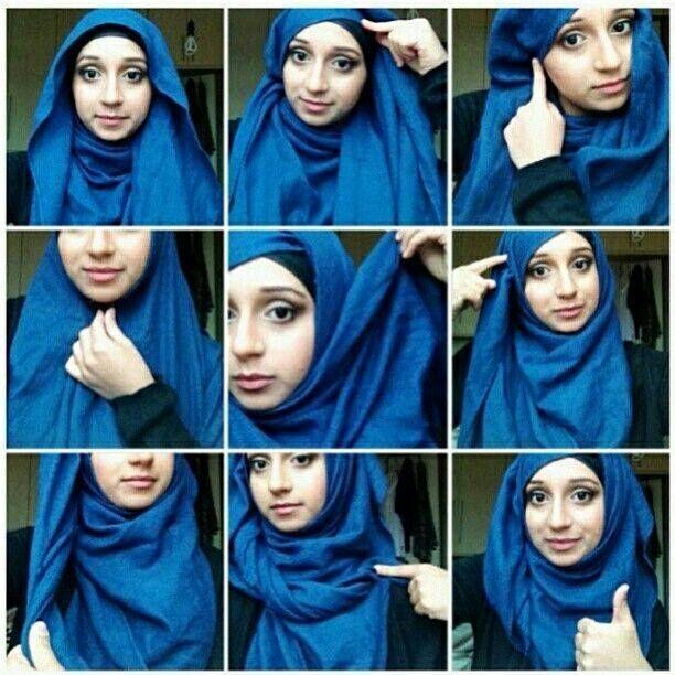 Cara Memakai Hijab Selendang yang Baik dan Benar