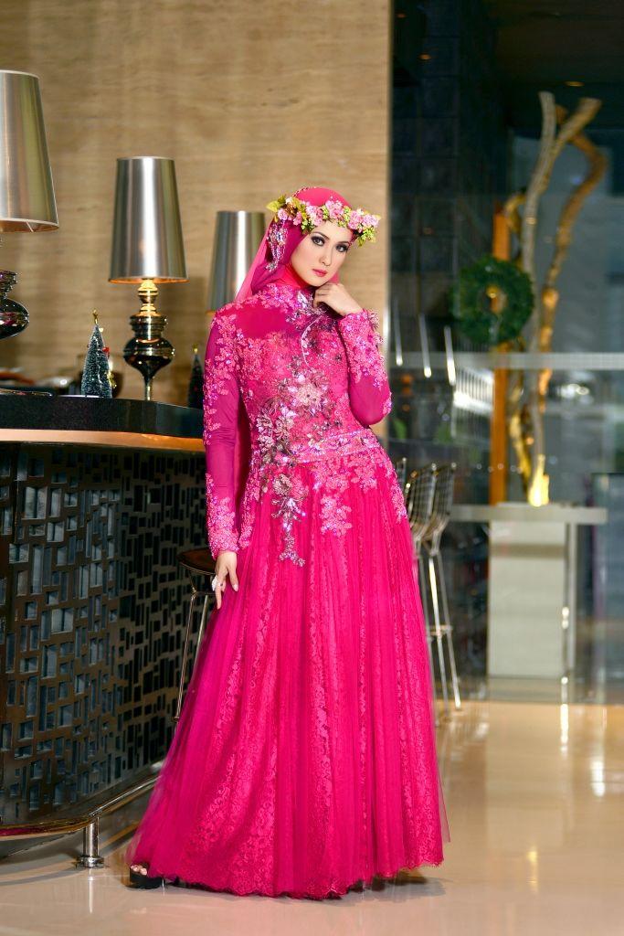 Model Kebaya Gamis Muslimah untuk Tampil Istimewa