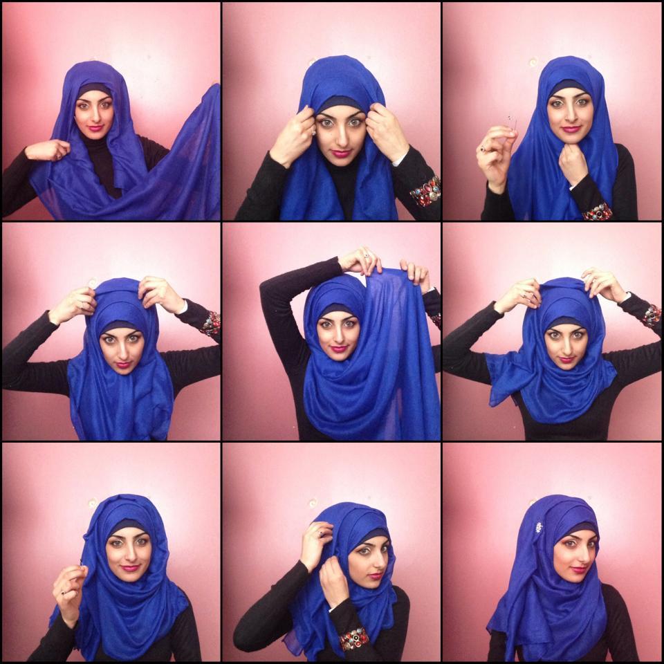 Tutorial Model Hijab Kebaya Simpel dan Modern